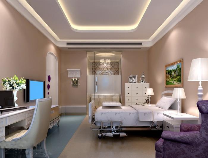 杭州1500平大型豪华整形美容医院装修设计效果图浏览: 日期:2017-03