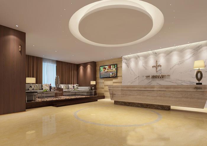 杭州700平高端整形医院装修设计效果图