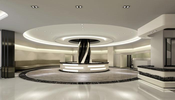 3500平大型现代简约整形医院装修设计效果图