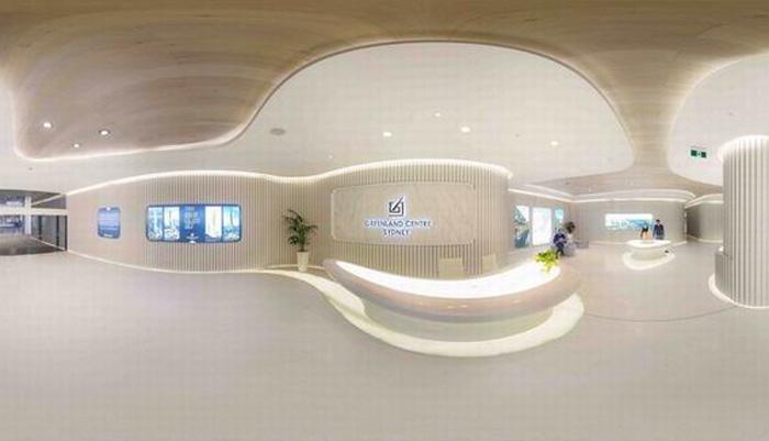 3300平现代简约整形医院装修设计效果图