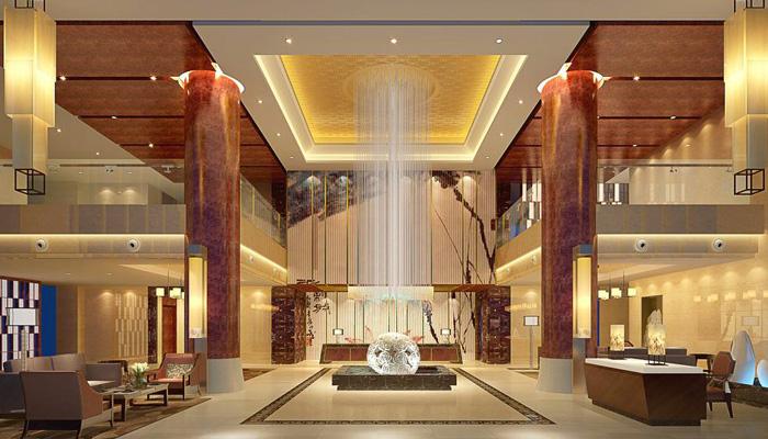1500平大型温泉养生馆装修设计效果图