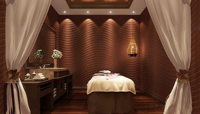 2100平大型欧式风格水疗spa会所装修设计室内效果图