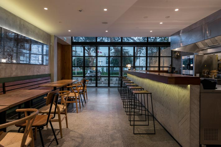特色餐厅中厅装修设计效果图