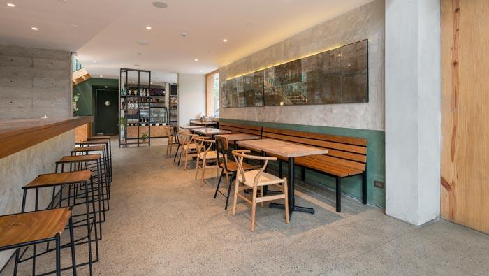 特色餐厅过道装修设计效果图