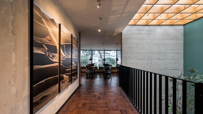 特色餐厅二楼装修设计效果图