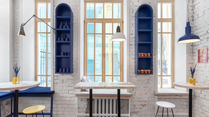 街头餐厅设计【100平方】