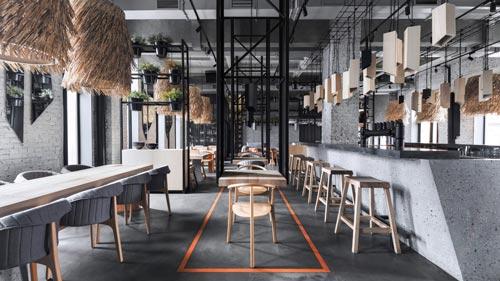 酒吧餐厅设计【北欧+工业】