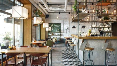 酒吧餐馆设计【180平方】