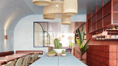 精致餐馆设计【160平方】