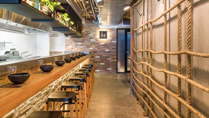 特色小饭店吧台装修设计效果图
