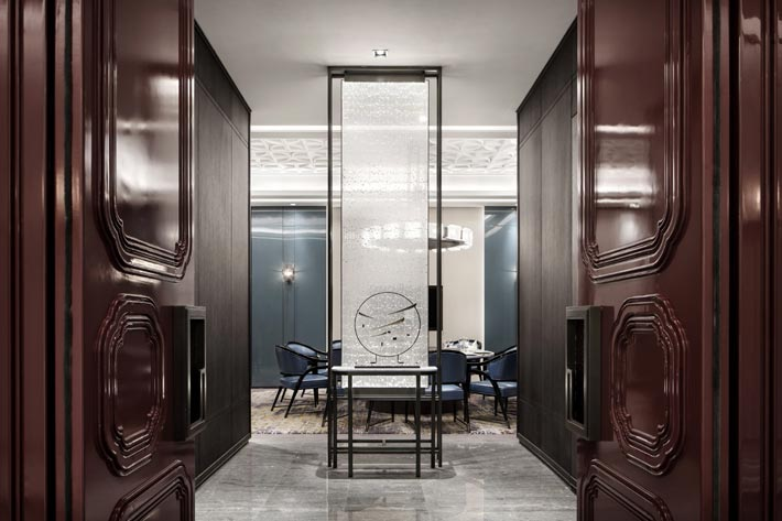 1500平方精致饭店包厢装修设计效果图