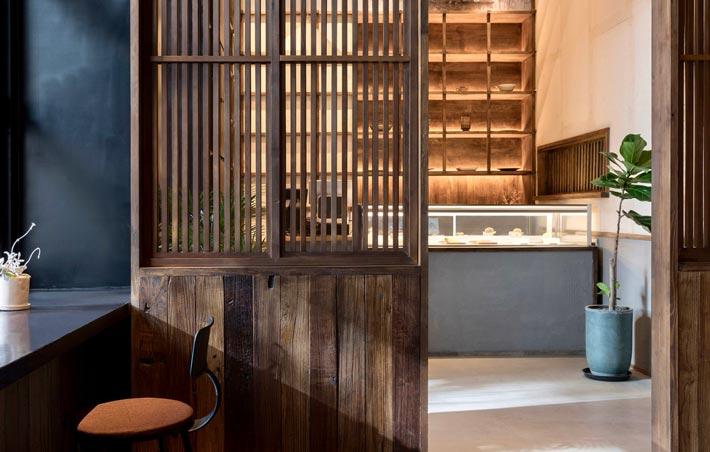 中式饭馆过道装修设计效果图