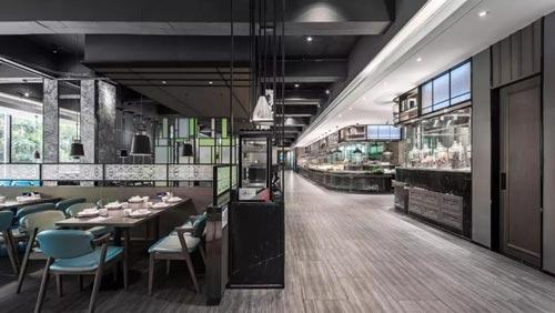 海鲜餐馆设计【600平方】