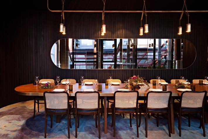 特色海鲜餐厅餐区装修设计效果图