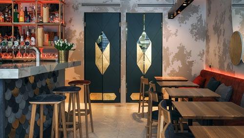 咖啡馆设计【120平方】