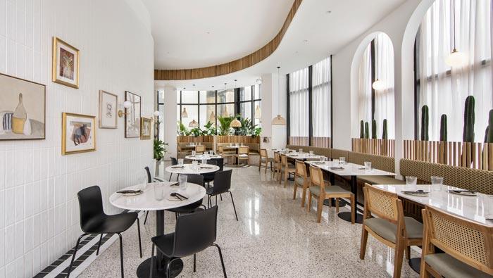 泰式餐馆餐区装修设计效果图