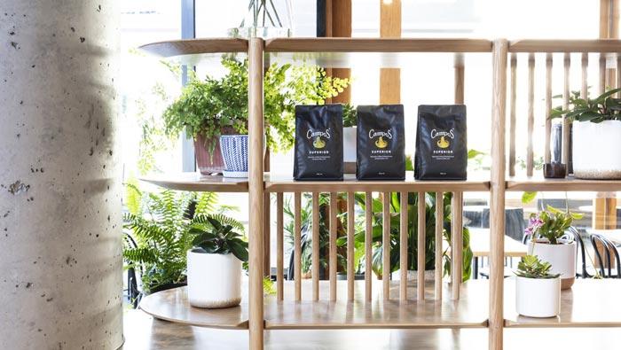 440平方咖啡馆装修设计细节效果图