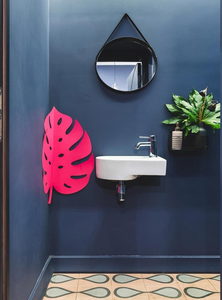 130平方早餐咖啡店洗手池装修设计效果图