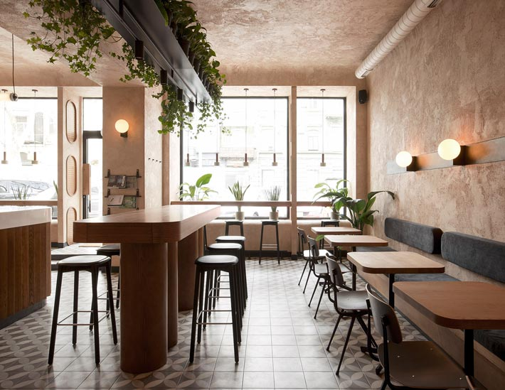 咖啡馆设计效果图