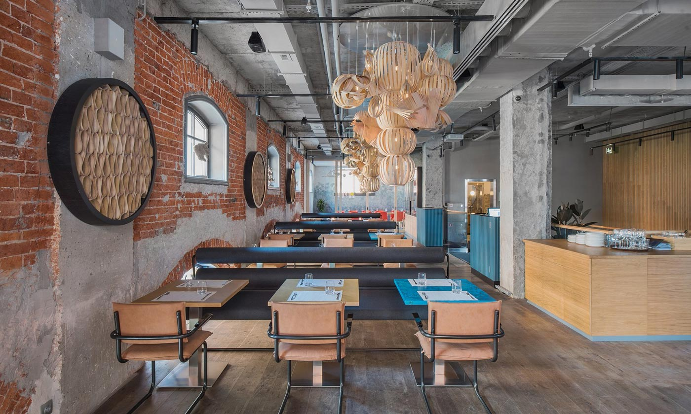 海鲜餐厅设计【500平方】