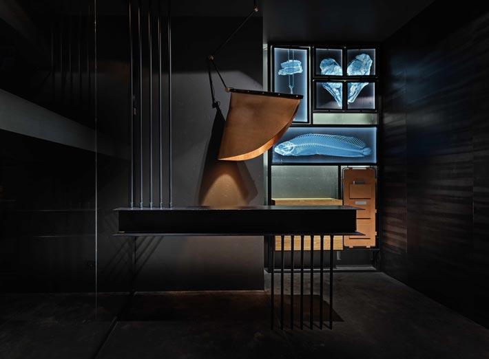330平方烤肉餐厅入口装修设计效果图