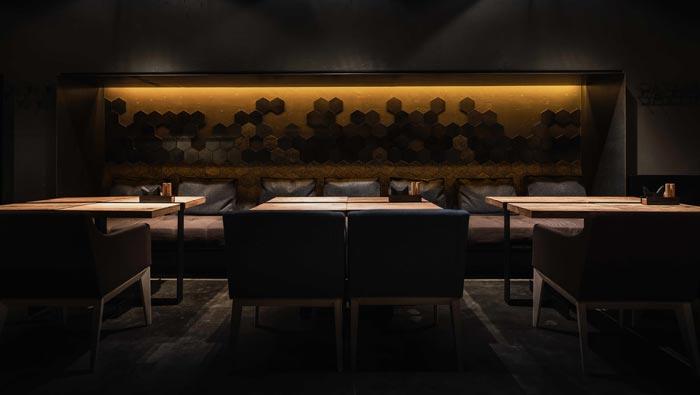 06330平方烤肉餐厅餐区装修设计效果图