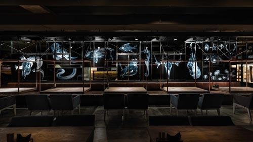 烤肉餐厅设计【330平方】