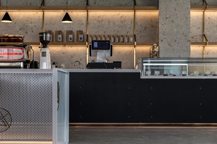270平方咖啡厅研磨区装修设计效果图