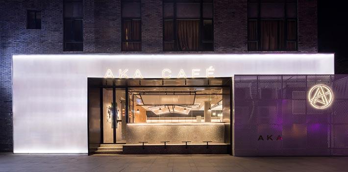 270平方咖啡厅门口装修设计效果图