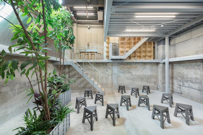 钢结构咖啡厅大厅装修设计效果图