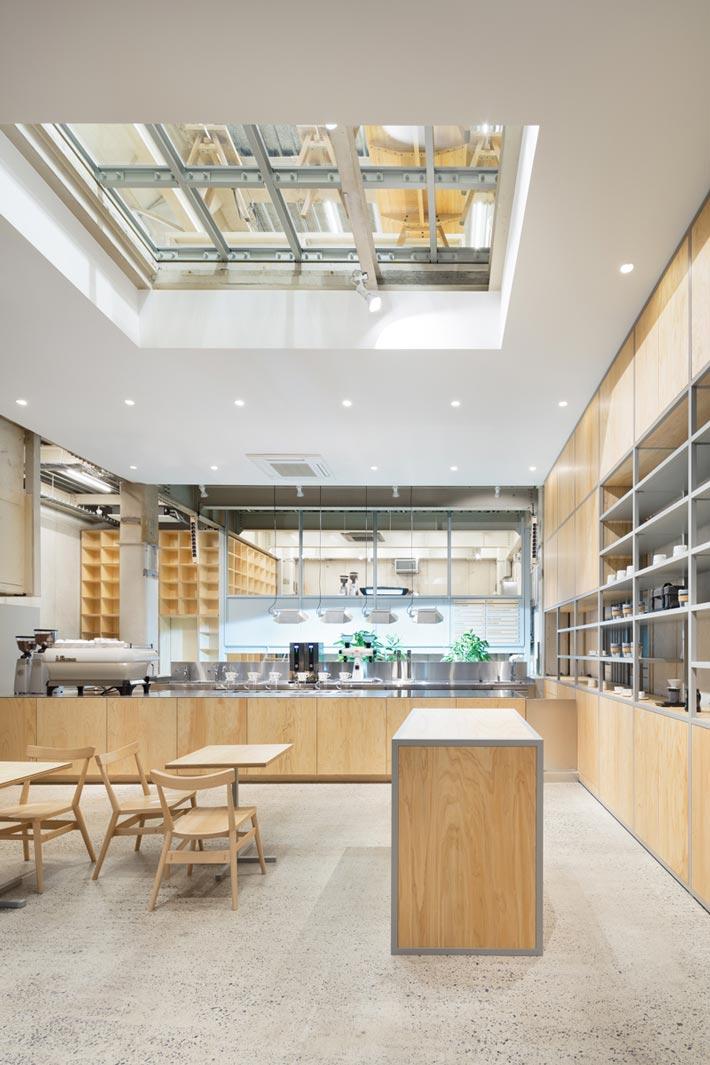 钢结构咖啡厅二楼装修设计效果图