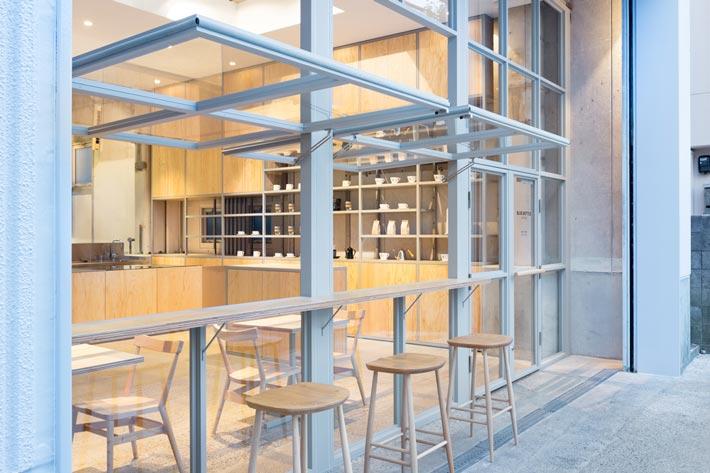 钢结构咖啡厅咖啡区装修设计效果图