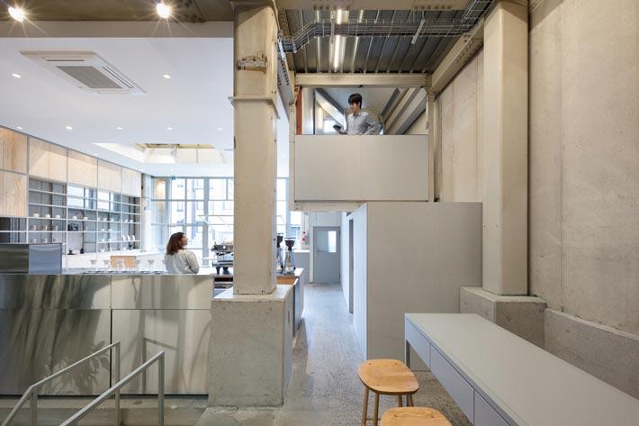 钢结构咖啡厅装修设计俯视图