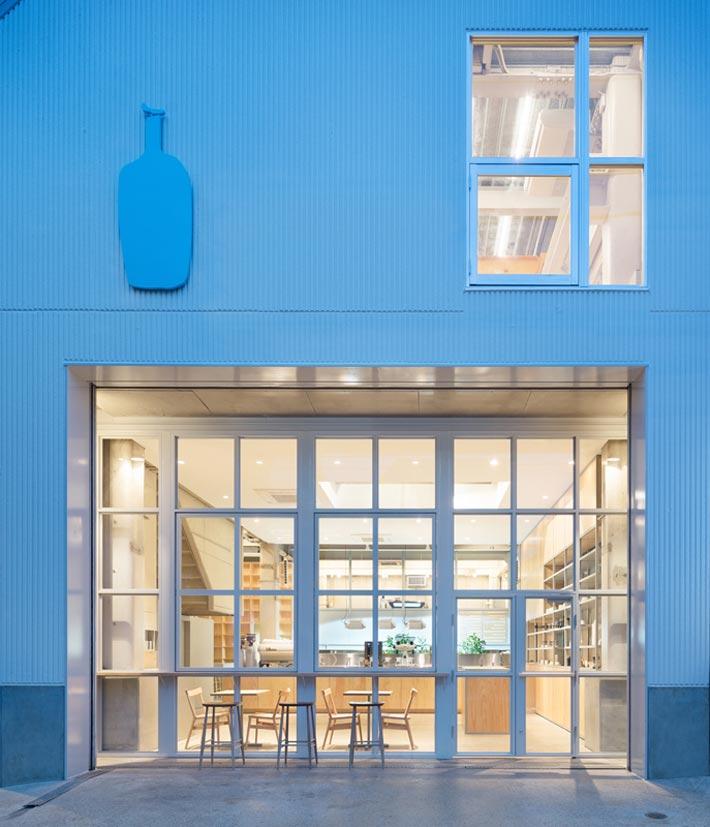 钢结构咖啡厅门口装修设计效果图