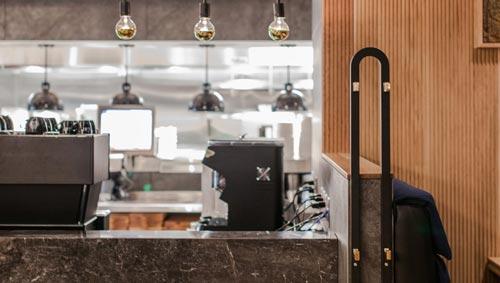 连锁西餐厅设计【270平方】