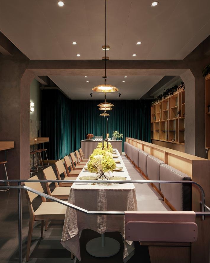 现代中餐厅装修设计效果图