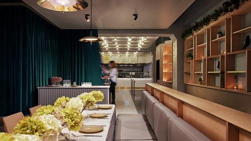 现代中餐厅设计【179平方】