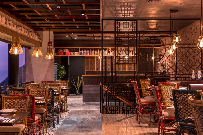品牌中餐厅二楼装修设计效果图