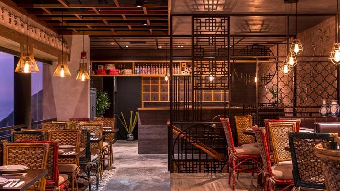 品牌中餐厅餐区装修设计效果图