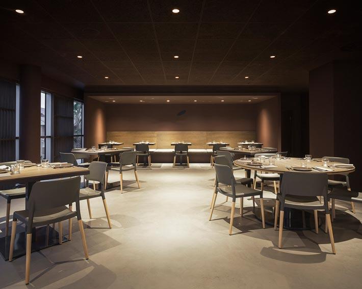 精致中餐厅餐区装修设计效果图