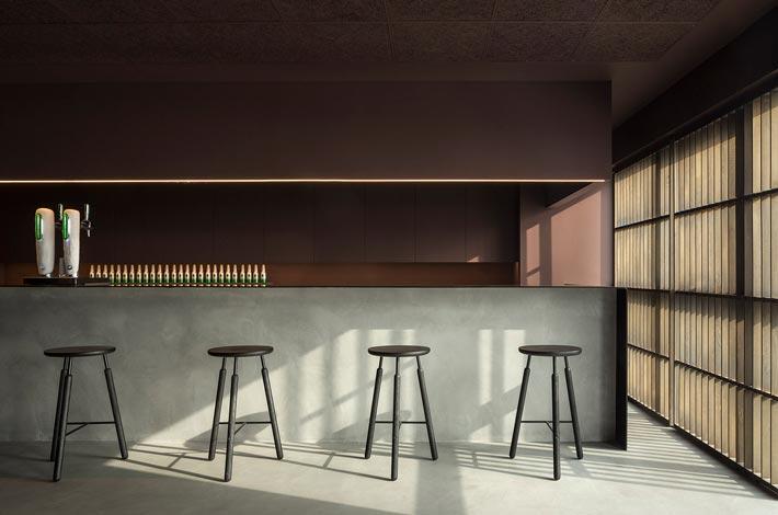 精致中餐厅吧台装修设计效果图