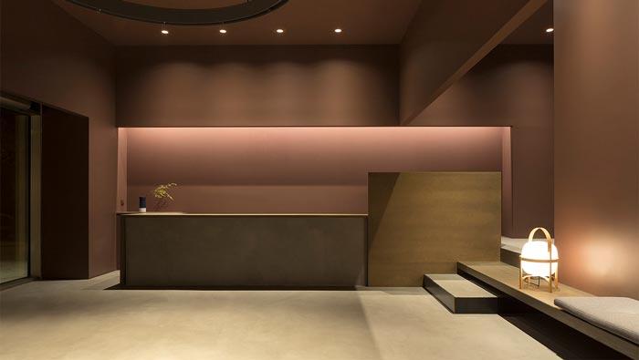 精致中餐厅前台装修设计效果图