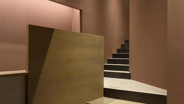 精致中餐厅楼梯装修设计效果图
