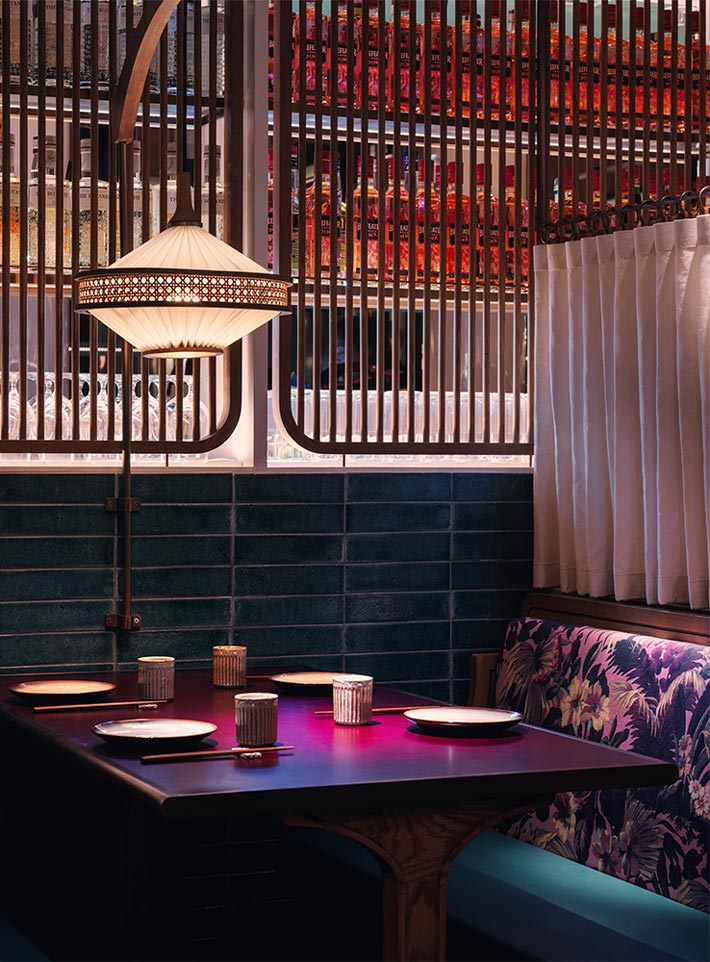 新派中餐厅餐区装修设计效果图