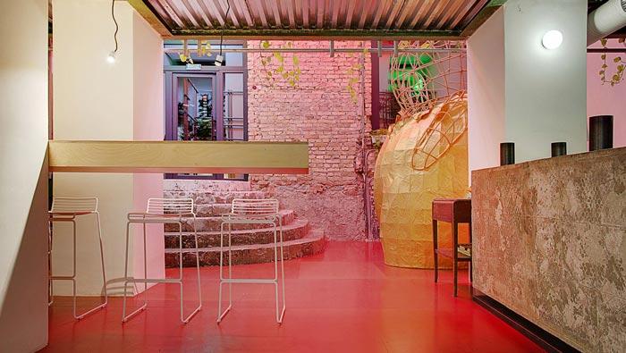 中餐厅前台装修设计效果图