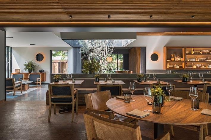 景区中餐厅前台装修设计效果图
