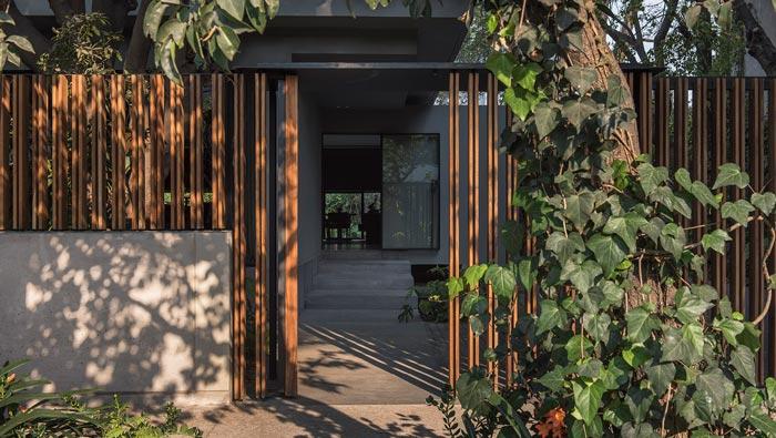 景区中餐厅入口装修设计效果图