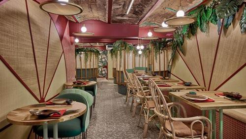 日式餐厅设计【400平方】