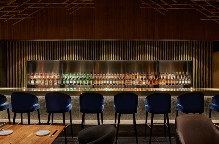 日料餐厅吧台装修设计效果图