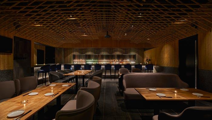 日料餐厅餐区装修设计效果图